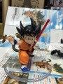 Chilhood Anime Figura 8 CM Dragon Ball Z Son Goku PVC Action Figure Modelo Brinquedos Colecionáveis.