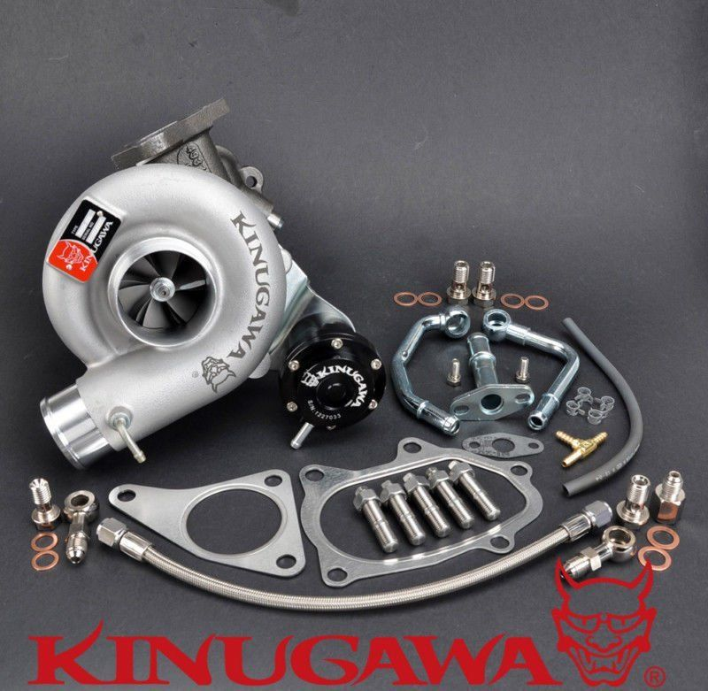Kinugawa Billet Turbocharger 2 25 TD06SL2 18G 8cm for SUBARU 98 08 Impreza WRX STI Forester
