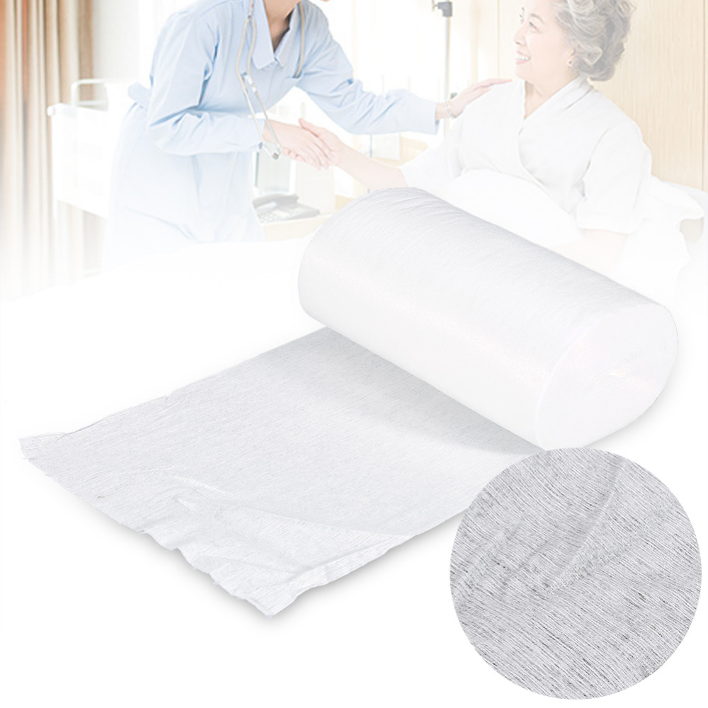 100pcs/roll Disposable Diaper Biodegradable Bamboo Liner Disabled Urinary Pads Diaper Liners Adult Incontinent Nappy Insert Pads