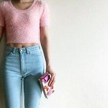 American Apparel Women aa Classic High Waist Jeans Female Skinny Pencil Denim Pants Pantalones Vaqueros Mujer