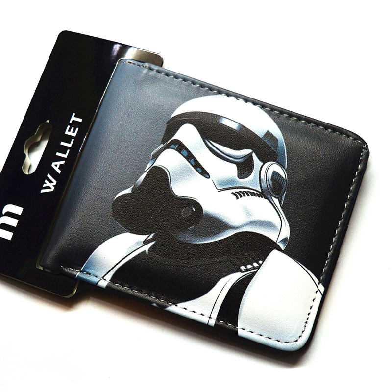 Cartoon wallet   Star Wars  fashion wallet  Boy and girl wallet
