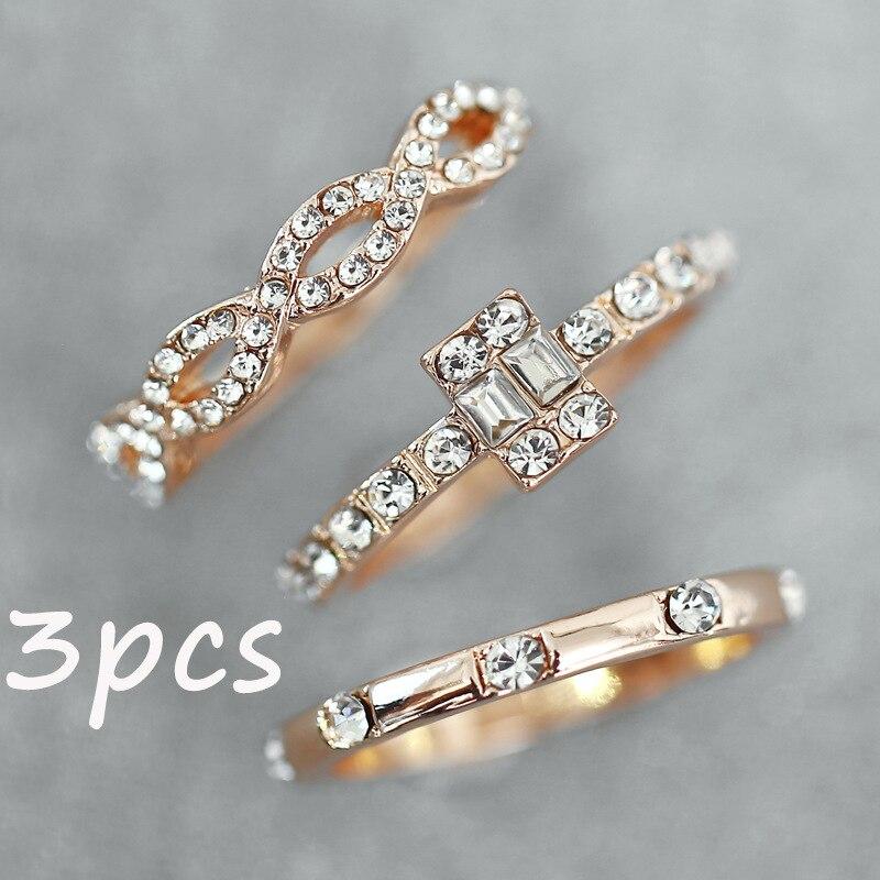3Pcs-Set-Fashion-Crystal-Engagement-Wedding-Rings-Set-For-Women-2018-Statement-Finger-Ring-Female-Geometric (2)