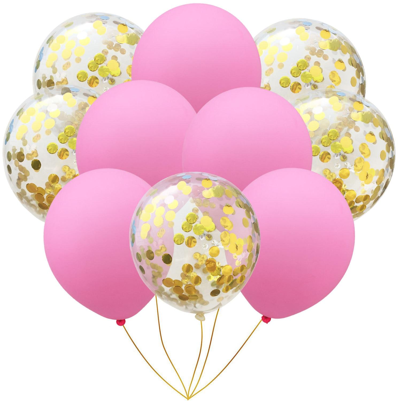 10 шт./упак. надувной шарик игрушка 10 дюймов на день рождения, свадьбу, розовый шар цвета розового золота надувные игрушки Фотофон с изображением мультяшной шляпы Детская Вечеринка игрушечная шапка - Цвет: pink gold