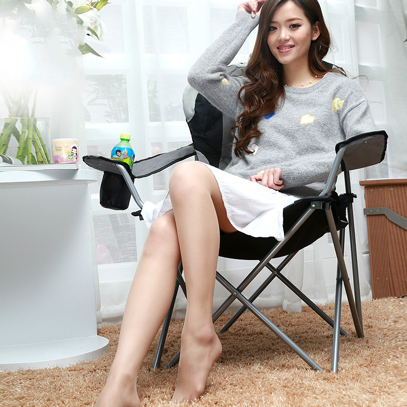 High quality modern outdoor leisure folding chair pavilion beach backrest chair portable publicity chair цена
