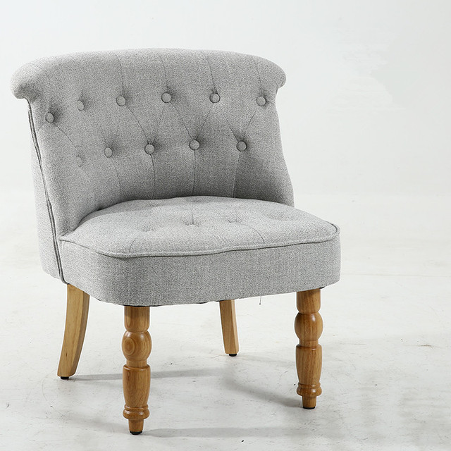 Casual Accent Chair with Button Tufts 2