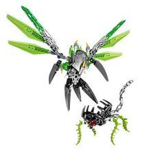 Bionicle Uxar создание джунглей цифры 609-1 строительный блок игрушки для мальчиков Совместимость Legoing 71300 Bionicle
