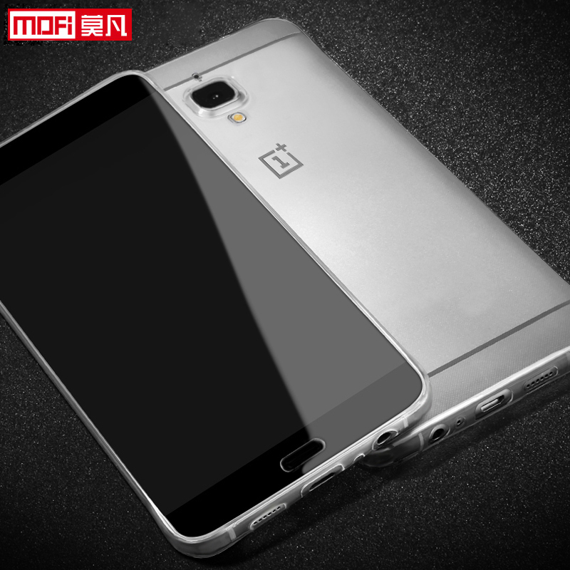huge discount 0b3f1 58ff6 US $4.93 23% OFF|oneplus 3 case cover TPU soft ultra thin 5.5 original  Oneplus 3 coque mofi silicone back cover one plus 3 three fundas-in Fitted  ...