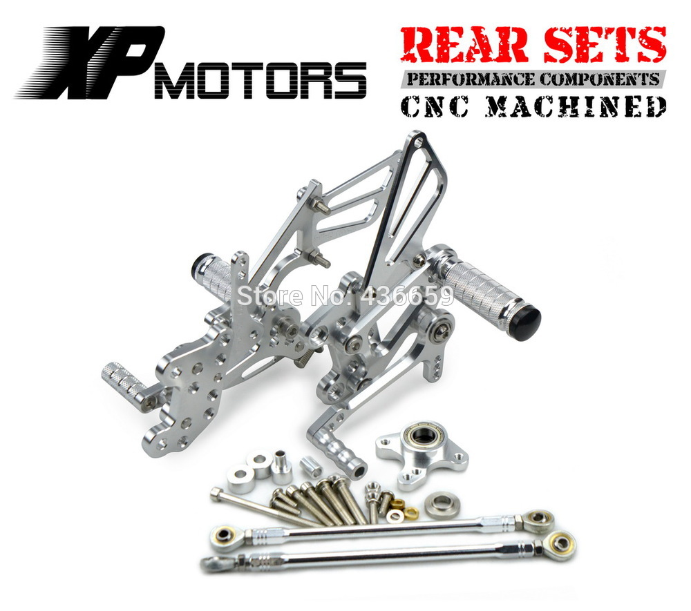 For HONDA CBR1000RR 2004-2007 2005 2006 Racing Rearsets Footrests Footpeg