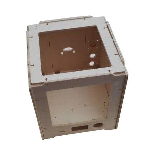 Ultimaker 2 go Frame Shell Case, 3D printer DIY laser cut wooden frame set ,6 mm wood