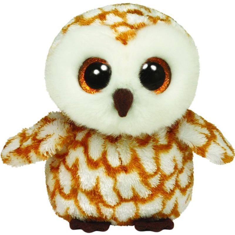 Ty Beanie Stuffed & Plush Animals Swoops The Owl Toy 15cm