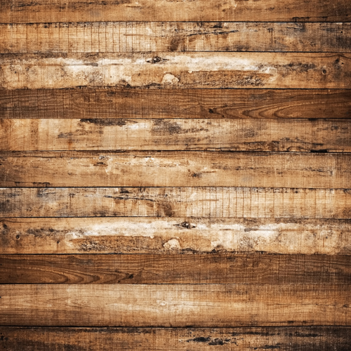 HUAYI Wood Floor Photography Backdrop Art Fabric Photo