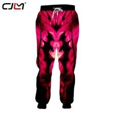 894ef93b39ac6a CJLM Człowiek Halloween 3D Drukowane Zwierząt Spodnie Kreatywny Księżyc I  Bat Odzież męska Gothic Duży Rozmiar