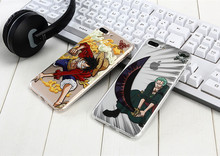cartoon one piece relief tpu phone case for iphone 7 7plus case air cushion silicone phone cases for iphone 6 6s plus