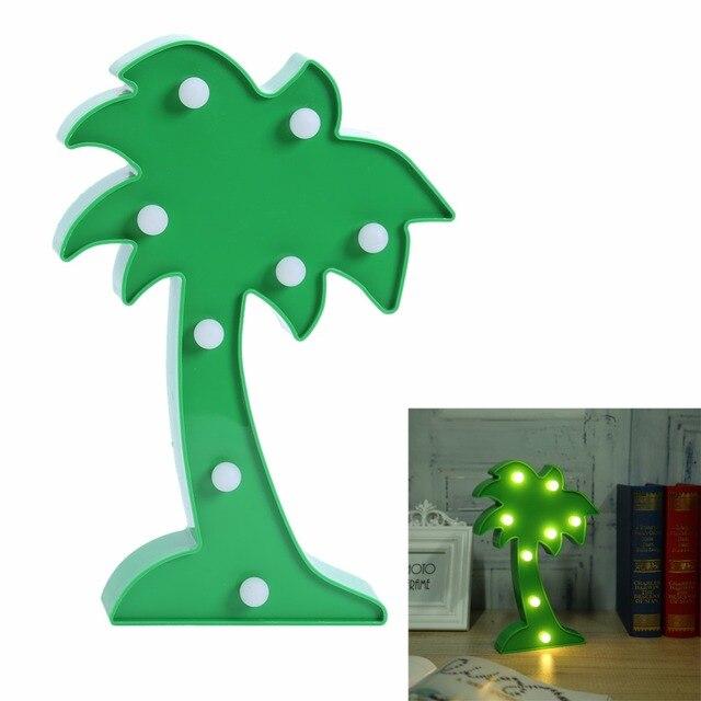 Led nachtlicht Kunststoff Kokosnussbaum Licht Romantischen ...