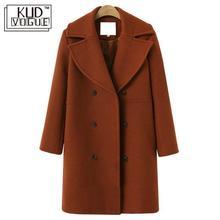 Elegant Jacket Overcoat Trench Women Outwear Female Autumn Korean Plus-Size Winter Casual