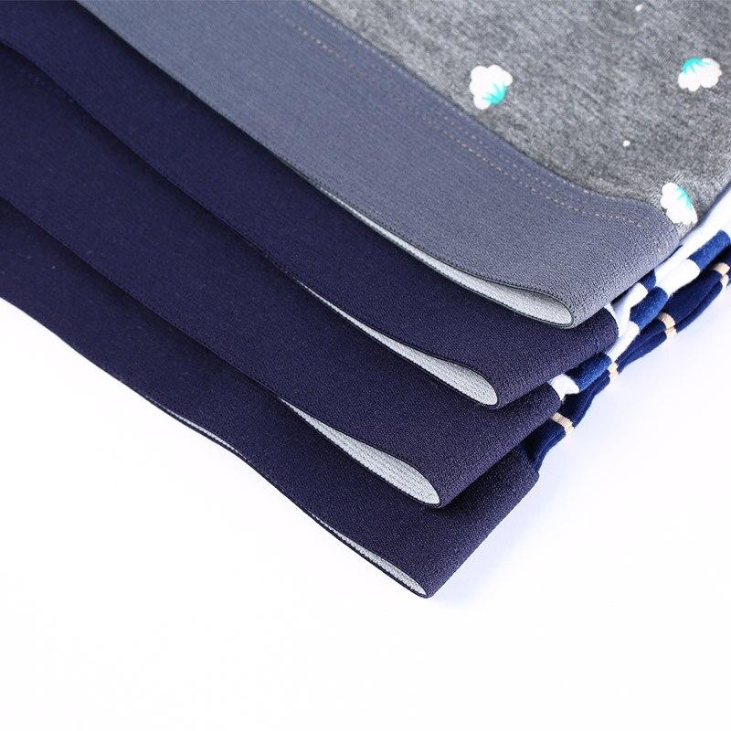 Image 3 - Men Underwear Printed Boxer Male Panties Short Fashion Striped Cueca Boxer Homme Modal Slip Boxershorts L 4XL 4pcs/lot-in Boxers from Underwear & Sleepwears