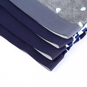 Image 3 - Men Underwear Printed Boxer Male Panties Short Fashion Striped Cueca Boxer Homme Modal Slip Boxershorts L 4XL 4pcs/lot