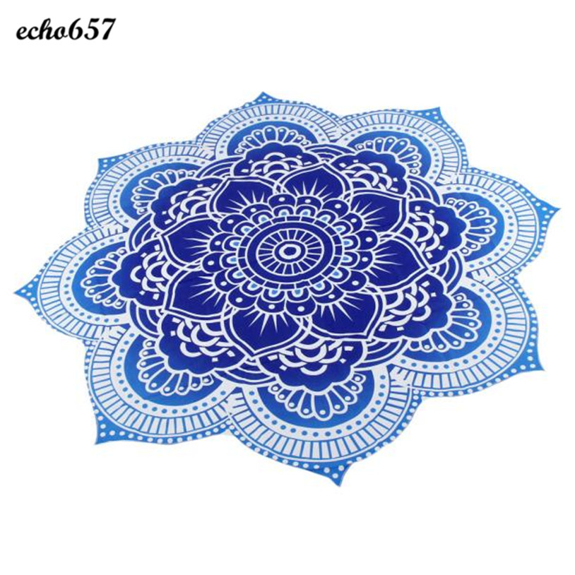 Fashion Beach Towel Echo657 Hot Sale Newly Fashion Round Beach Pool Home Shower Towel Blanket Table Cloth Beach Towel Jan 6