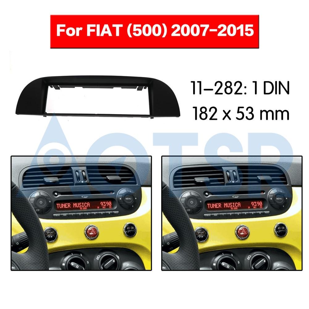 Single din car stereo radio installation kit facia adapter Mini Cooper 2000-2006 black 1 din