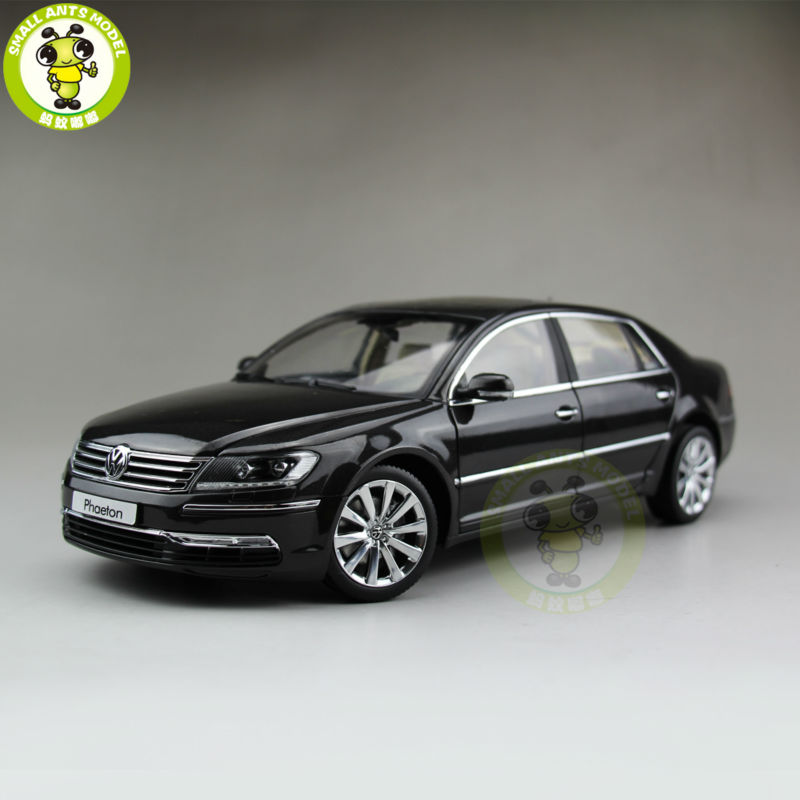 1/18 VW Volkswagen Phaeton Diecast Model Car Dark Gray Color 1 18 otto renault espace ph 1 2000 1 car model reynolds