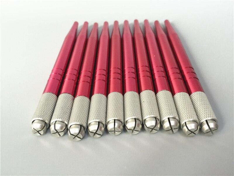 100ชิ้น3Dคิ้วM Icrobladingปากกาเครื่องสักคิ้วแต่งหน้าถาวรคู่มือM Icrobladingปากกาสีแดงสี-ใน ปืนสัก จาก ความงามและสุขภาพ บน AliExpress - 11.11_สิบเอ็ด สิบเอ็ดวันคนโสด 1