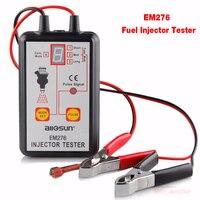 Fuel Injector Tester With 4 Pulse Modes All Sun EM276 Automotive Pump System Analyze EM 276