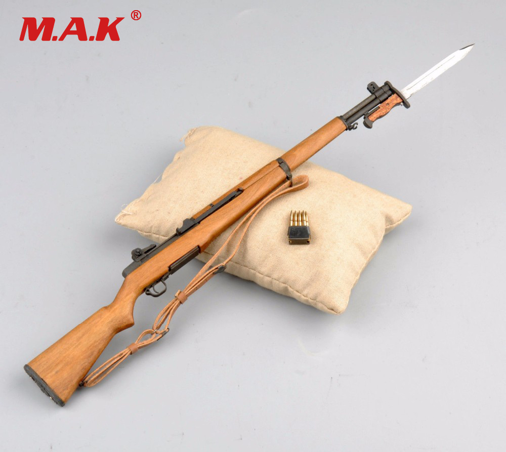 купить 1/6 scale mini M1 garand weapon United States rifle gun model toys fit for 12