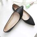 Весна Осень Европа новое прибытие женщин обувь одного плоский каблук мокасины мягкое дно весна лето балетки женские мокасины