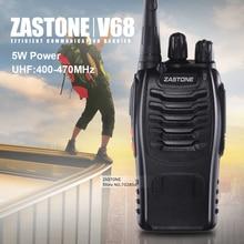 Zastone ZT-V68 UHF 400-470MHZ professional handheld two way radio pmr walkie talkie