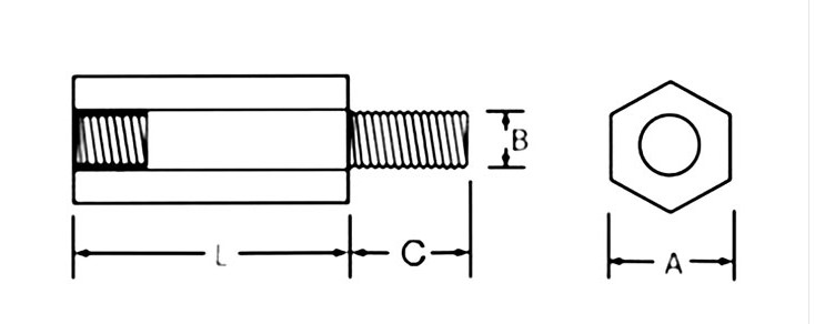 20Pcs 50Pcs M2//M2.5//M3//M4L+6Mm Thread Black Spacing Screw Plastic For PCB Motherboard Fixed Nylon Standoff Spacer Pillar Black M2 50PCS 8mm