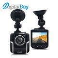 Digitalboy 4.3 pulgadas coche dvr 1080 p full hd de coches cámara de vídeo grabadora de 140 grados automóvil dash cam videocámara registrator g-sensor