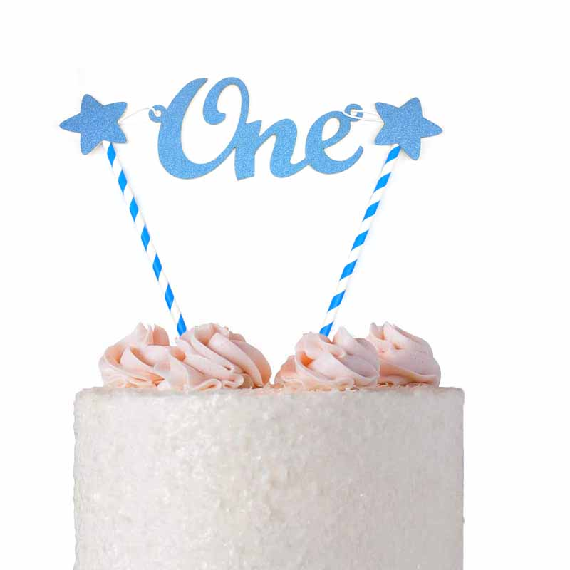 Kids Pig CAKE BUNTING Banner Topper Decoration Pig Birthday Party