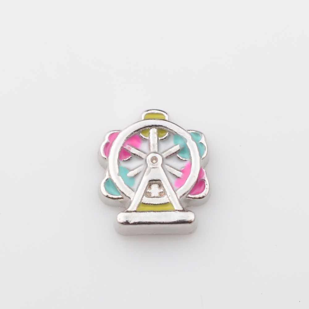 Ferris wheel, Floating charms,Fit floating charm lockets, FC0418
