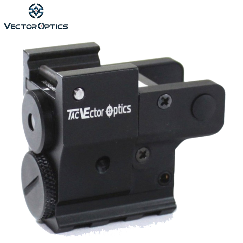 Vector Optics Twilight Compact Tactical Pistol Green Laser Dot Sight fit 20mm Weaver Rails for Glock 17 vector optics sphinx red dot sight with pistol rear mount for glock 17 19 sig sauer beretta springfield xd s