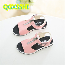 GQXS2017 2017 summer time youngsters seaside sneakers Open toe sandals for boys ladies designer toddler sandals for Primary college pupil sandal