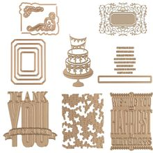 Birthday Hot Foil Plate Metal Cutting Dies Stencils For DIY Scrapbooking Decoration Embossing Paper Card Craft Die Cut 2019(China)