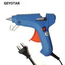 40 Вт Ес Plug Термоклей Пистолет С 1 шт. 11 мм Stick Heat Температура Инструмент Промышленной Мини-Пушки Термо Клеевым Пистолетом аппликатор