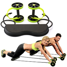 Multi-function Fitness Equipment Ab Roller Pull Rope Abdominal Waist Slimming Abdominal Exercise Equipment J151