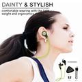 Bluetooth 4.1 Fone De Ouvido Sem Fio Bluetooth Esporte Fone de Ouvido com Microfone Com Cancelamento de Ruído Fones de Ouvido de Voz Original