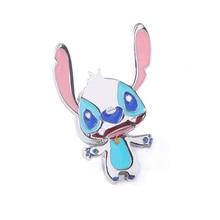 Cartoon Alien Lilo Stitch Enamel Brooches Pins Cute Animal Badge For Women Men Lapel pin Denim Shirt Bag Accessories