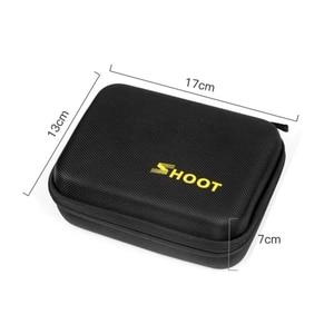 Image 3 - Небольшой ящик для хранения экшн камеры SHOOT EVA, чехол для GoPro Hero 8 7 6 5 SJCAM SJ7 Xiaomi Yi 4K Lite h9 Go Pro 7 6 5, аксессуары