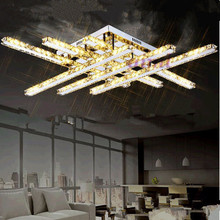 LED Ceiling Lights Pendant Light Chandelier Lamps Lighting Fixtures with Clear  K9 Crystal CE UL 86.8*86.8 *12.5cm цены