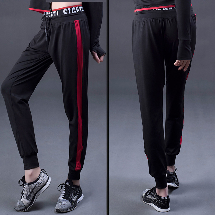 psvteide sporty pants woman Tie Waist Yoga Jogger trouser wemen s Straight Pants Training and Exercise