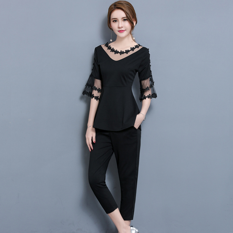 Online Get Cheap Plus Size Pants Suit with Ruffles -Aliexpress.com ...