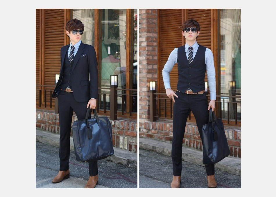 Male Tie Costume Black 16