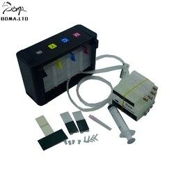 Darmowa poczta!! 711 Ciss system stałego zasilania atramentem dla HP T120 T520 z pustymi atrament kartridż do HP 711 ARC układu