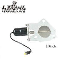 Lzone гонки-2.5 дюймов Универсальный выхлопных заготовка выреза клапан-бабочка + высокая мотор Фирменная Новинка 2.5 «JR-CTS25