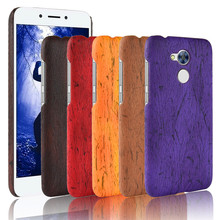 Huawei Honor 6A DLI-TL20 DLI-AL10 Case Wood Pattern Hard PC+PU Leather Back Cover Hard Case for Huawei Honor 6A Honor 5C Pro panda pattern detachable protective wood back case for iphone 5c brown black