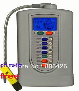 Image 1 - FreeShipping Kangen ionizer/alkaline water/cathodic water/ionic/hydrogen water(JapanTechTaiwan fact)built in NSF filter+pH Meter