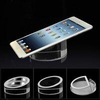 5 cái an ninh Máy Tính Bảng đứng Acrylic Ipad màn hình chủ vòng rõ ràng điện thoại di động chống trộm thiết bị cho apple samsung cửa hàng bán l